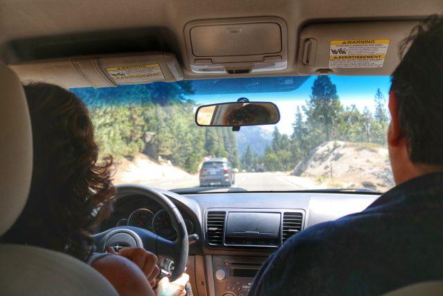 Lake Tahoe Drive, California