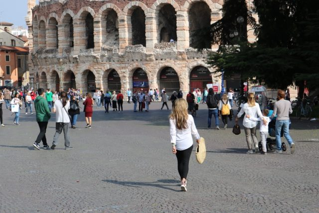 Verona, Sightseeing from Venice to Milan