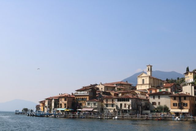 Monte Isola at Lago d'Iseo, Sightseeing from Venice to Milan