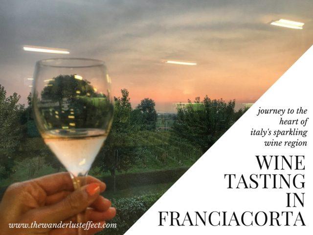 Wine Tasting in Franciacorta