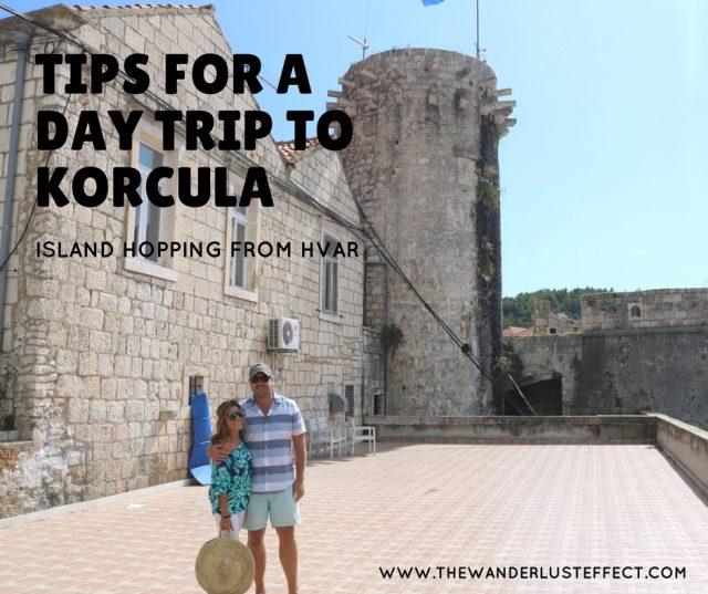 ISLAND HOPPING: Day Trip to Korcula