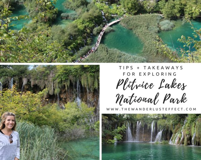 Tips + Takeaways for Exploring Plitvice Lakes National Park