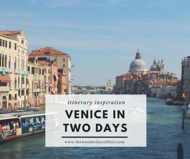 Magical italy an itinerary for two days in venice the for What to see in venice in 2 days