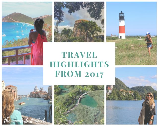 Top Travel Destinations from 2017