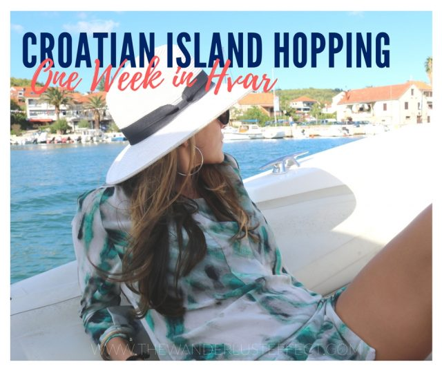 Island Hopping in Croatia: One Week in Hvar