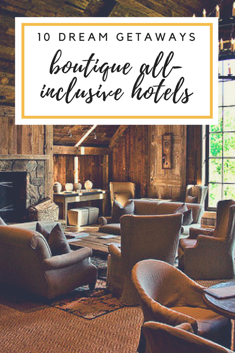 Blackberry Farm ✧ Boutique All-Inclusives for Your Wishlist