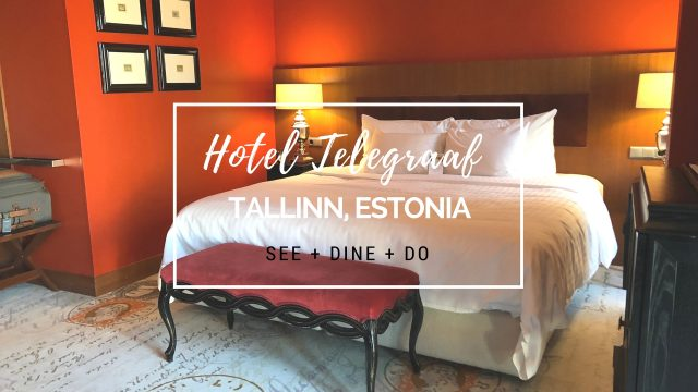 HOTEL INSIDER: A Stay at Hotel Telegraaf, Tallinn