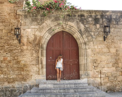 Old Town Rhodes with Tourtlee