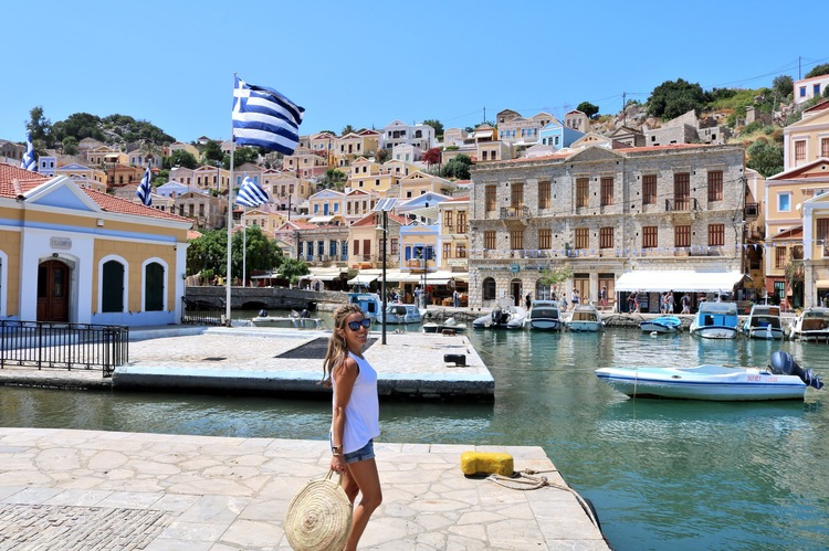 Two Days in Symi, Greece; Traveling During COVID