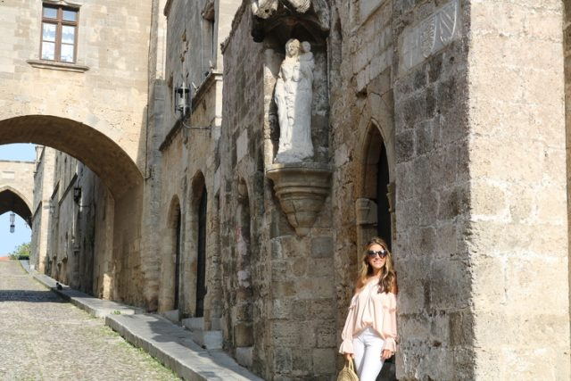 Exploring Rhodes Old Town, Street of the Knights