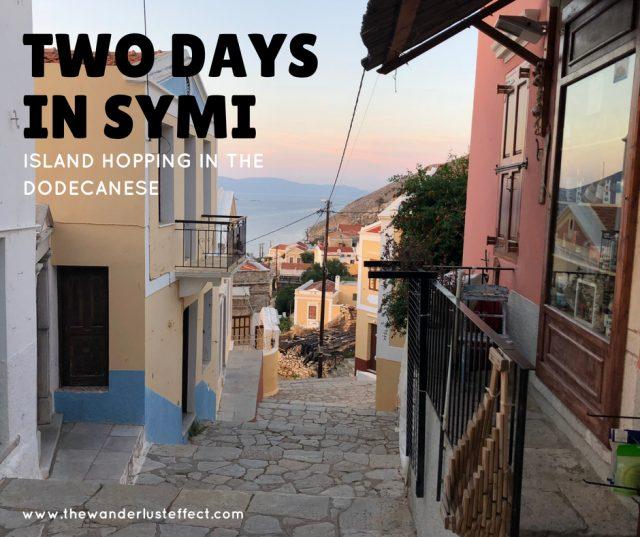 Two days in Symi