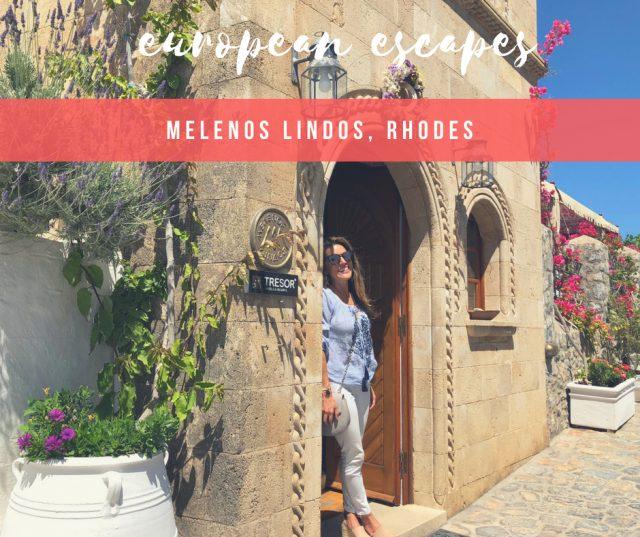 HOTEL INSIDER: A Stay at Melenos Lindos, Rhodes