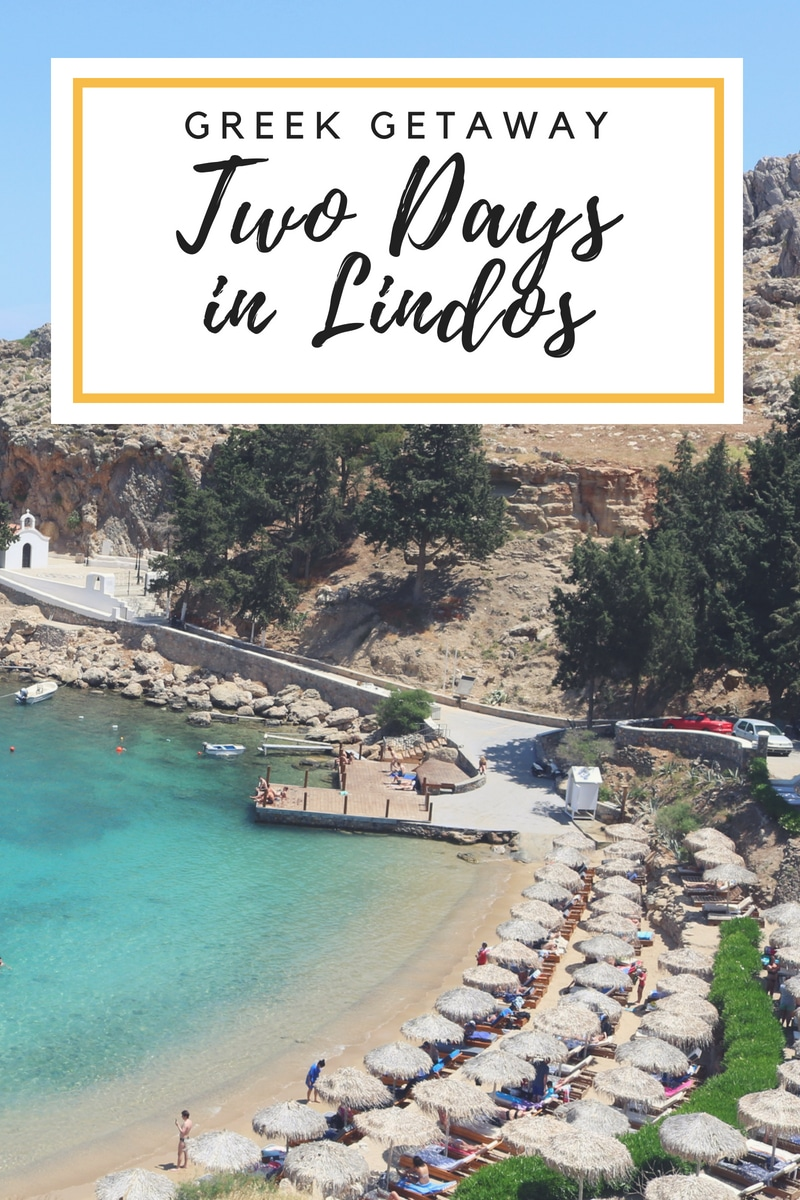 two days in lindos