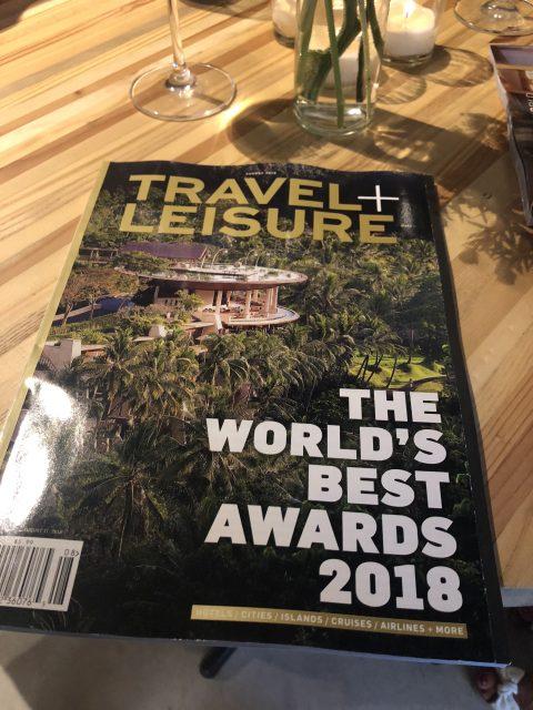 Travel + Leisure World's Best