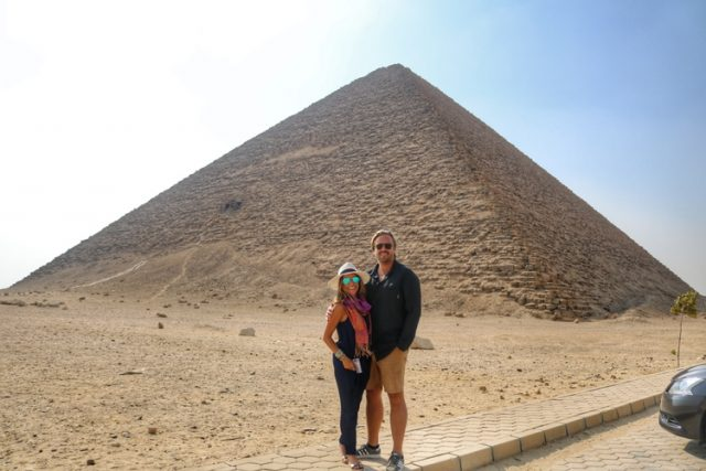 Egyptian Pyramids: Red Pyramid of Dahshur