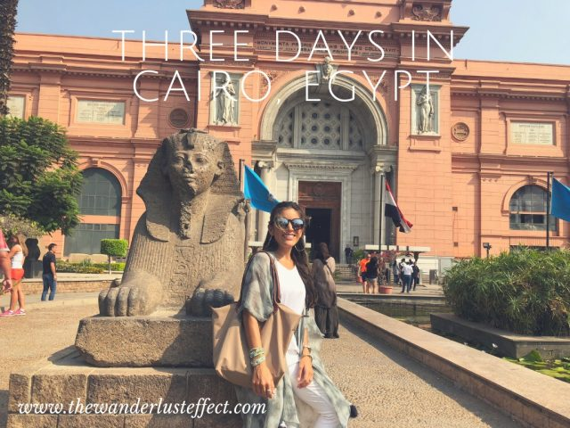 Three Days in Cairo
