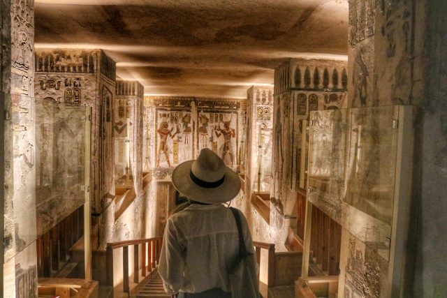 Ramesses III Tomb, Valley of the Kings, Luxor