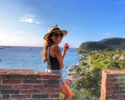 Fort Oranje, Two Days in Statia