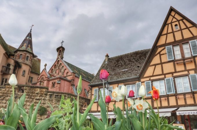 Visiting Alsace: Eguisheim, France