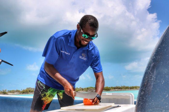 Boating in the Exumas with Sugar Adventures