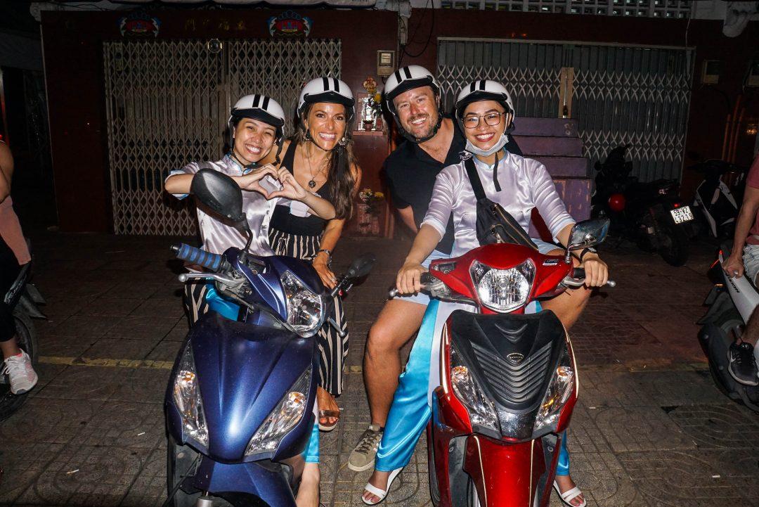 Motorbike with XO Tours