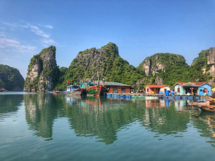 Vung Vieng Fishing Village, Indochina Junk