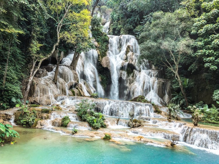 3 Days in Luang Prabang, Kuang Si Falls