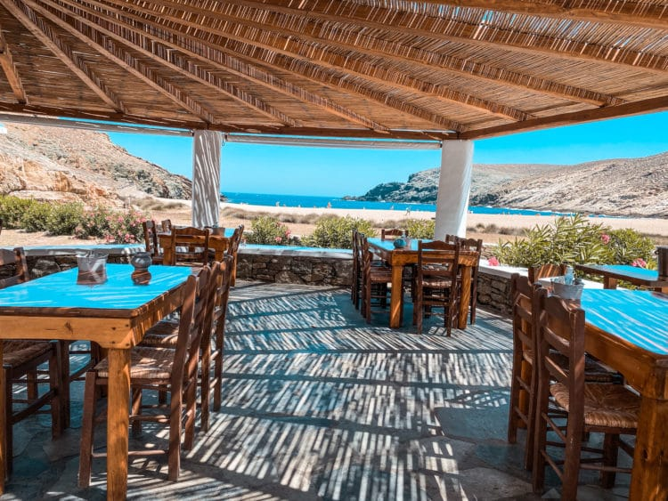 ATV Tour of Mykonos, Fokos Taverna