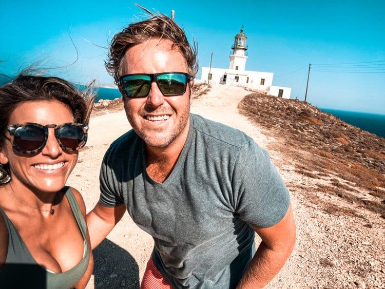 ATV Tour of Mykonos, Armenistis Lighthouse