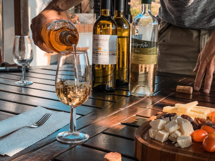 Wine Tasting in the Cyclades