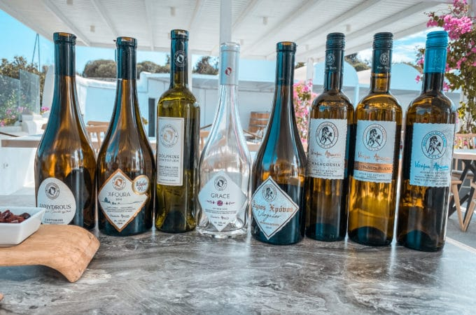 Self-Guided Wine Tasting Tour in Santorini, Avantis Winery