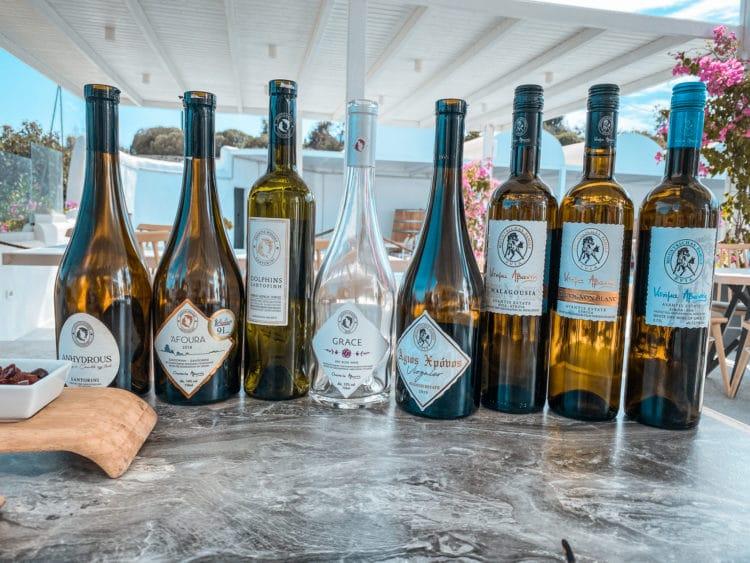 Self-Guided Wine Tasting Tour in Santorini, Avantis Winery