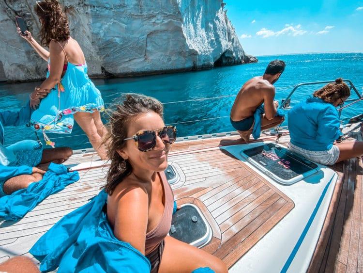 Boat Trip to Kleftiko, Milos
