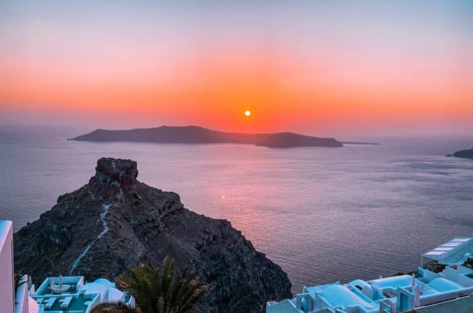 Places for Sunset in Santorini