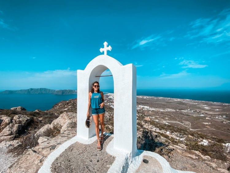 Oia Fira Hike, Santorini
