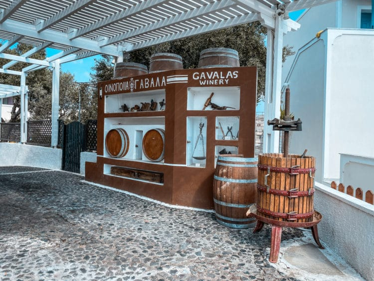Self-Guided Wine Tasting Tour in Santorini, Gavalas Winery