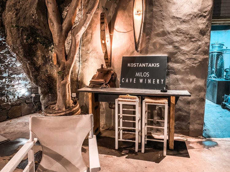 Kostatakis Winery, Wine Tasting in the Cyclades