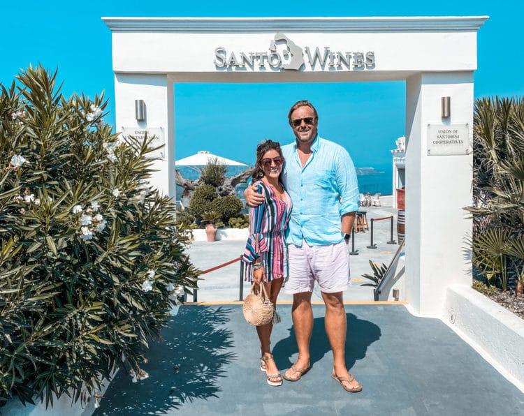 Wine Tasting in Santorini