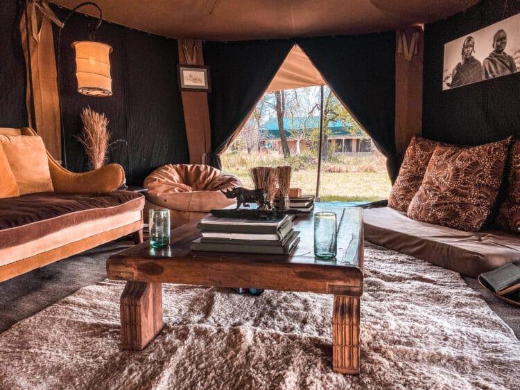 Alex Walker's Serian Lamai Camp