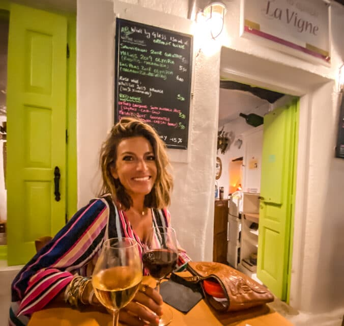 La Vigne, Naxos, 7 Wine Bars in the Cyclades