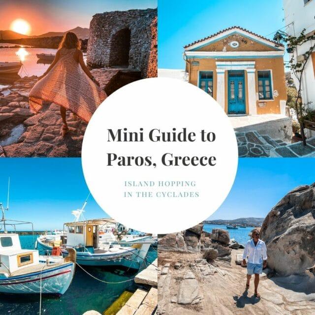 Mini Guide to Paros, Greece