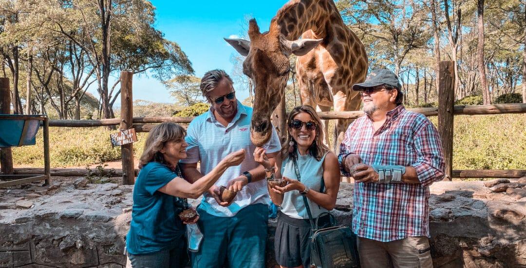 Giraffe Center, Two Days in Nairobi