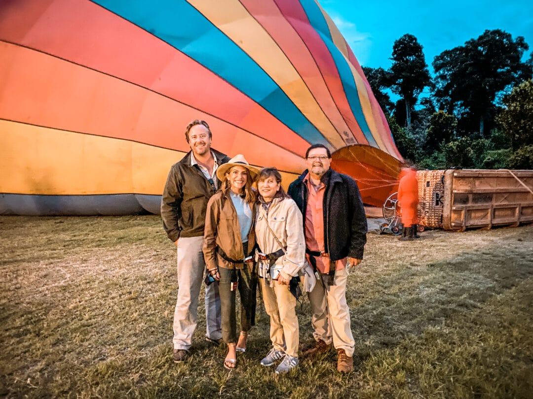 Hot Air Ballooning in the Masai Mara