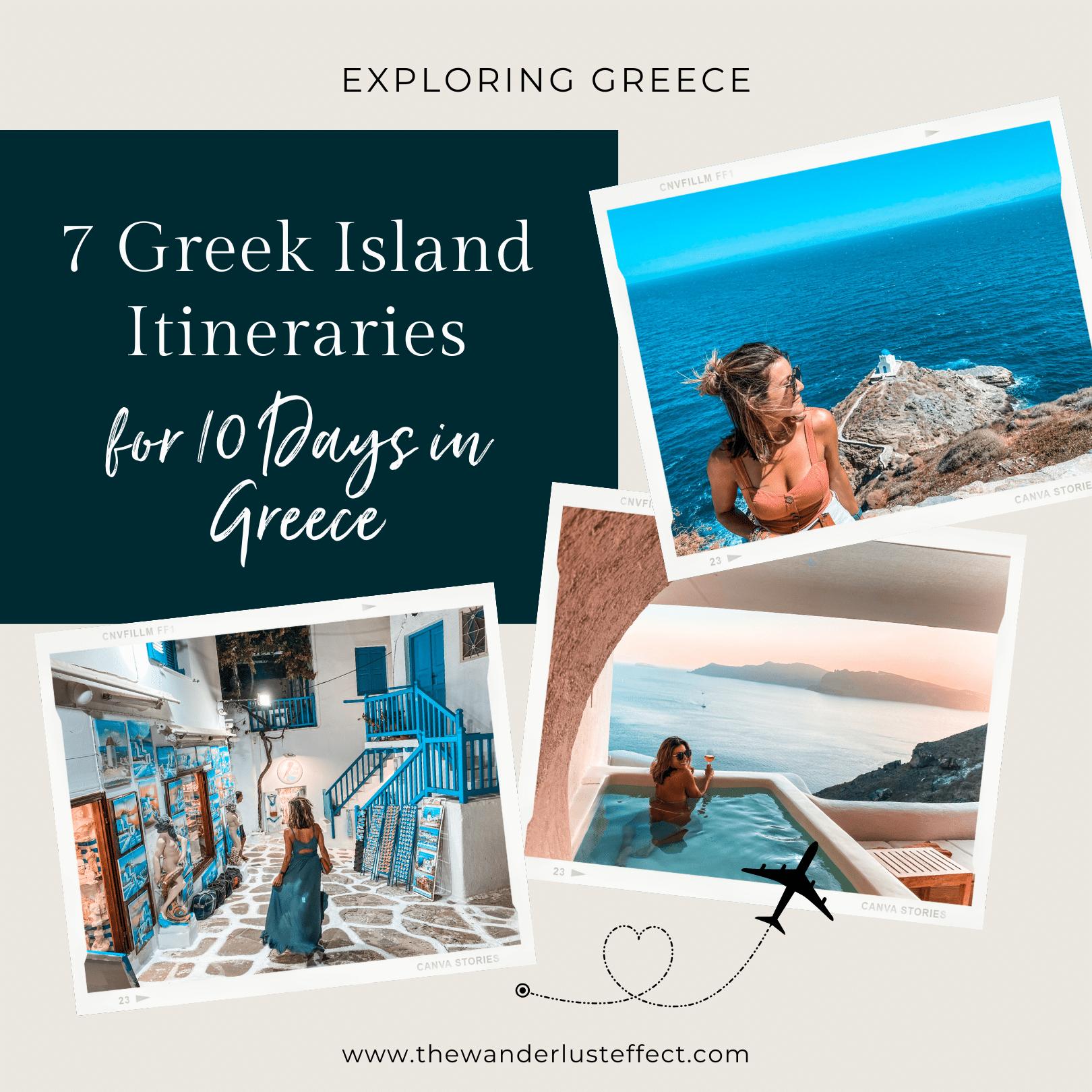 Greek Island Itineraries